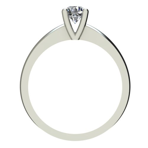 Годежен Пръстен бяло злато с диамант Cante 0,17 ct. 2230 b