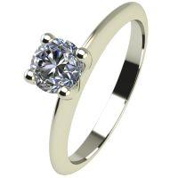 Годежен Пръстен бяло злато с диамант Cante 0,17 ct. 2248