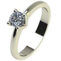 Годежен Пръстен бяло злато с диамант Cante 0,25 ct. 2231