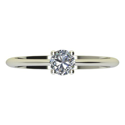 Годежен Пръстен бяло злато с диамант Cante 0,25 ct. 2249 a