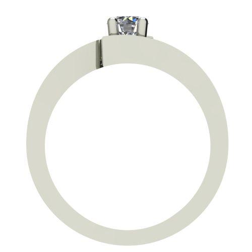 Годежен Пръстен бяло злато с диамант Close 0,17 ct. 2237 b