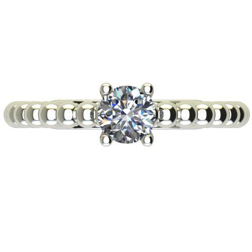 Годежен Пръстен бяло злато с диамант Garland 0,25 ct. 2264 a