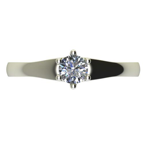 Годежен Пръстен бяло злато с диамант Piece 0,25 ct. 2244 a
