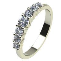 Годежен Пръстен бяло злато с диамант Vision 0,34 ct. 2250