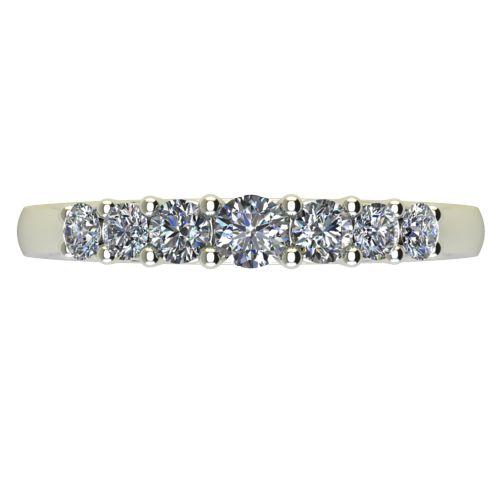 Годежен Пръстен бяло злато с диамант Vision 0,34 ct. 2250 a