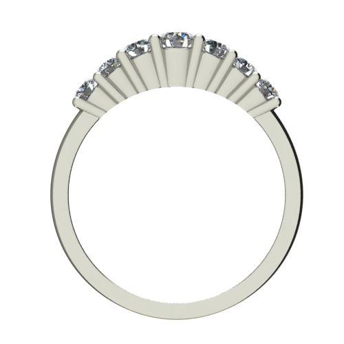 Годежен Пръстен бяло злато с диамант Vision 0,34 ct. 2250 b