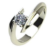 Годежен Пръстен бяло злато с диамант Date 0,25 ct. 2269