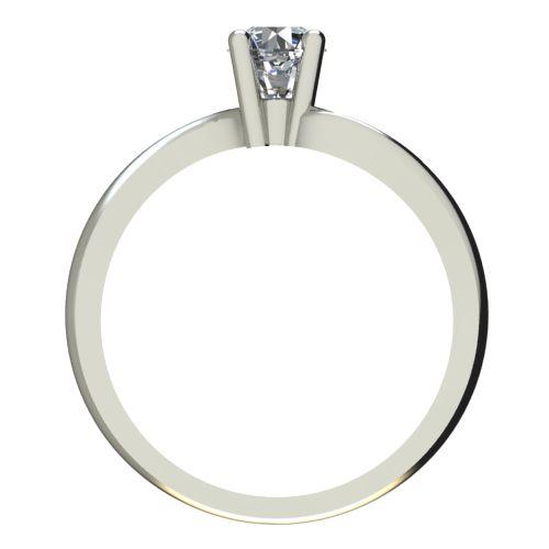 Годежен Пръстен бяло злато с диамант Eight 0,17 ct. 2278 b