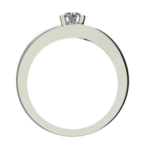 Годежен Пръстен бяло злато с диамант Eyes 0,25 ct. 2274 b