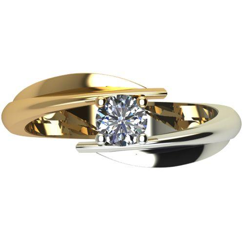 Годежен Пръстен от злато с диамант Date 0,25 ct. 1269 a
