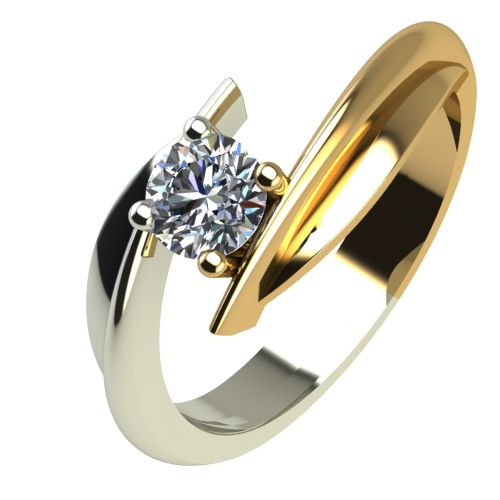 Годежен Пръстен от злато с диамант Date 0,25 ct. 1269