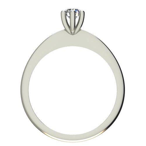 Годежен Пръстен бяло злато с диамант Cante 0,12 ct. 2300 b