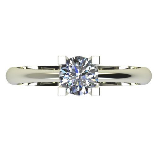 Годежен Пръстен бяло злато с диамант Cante 0,17 ct. 2281 a