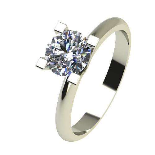 Годежен Пръстен бяло злато с диамант Cante 0,17 ct. 2281