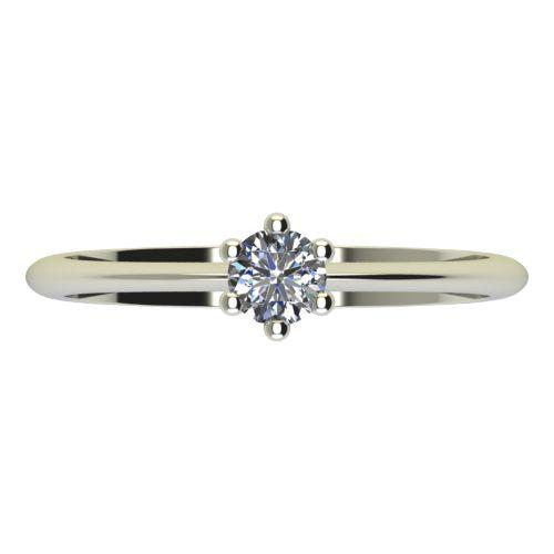 Годежен Пръстен бяло злато с диамант Cante 0,17 ct. 2301 a