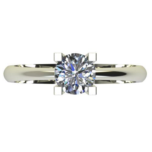 Годежен Пръстен бяло злато с диамант Cante 0,25 ct. 2282 a