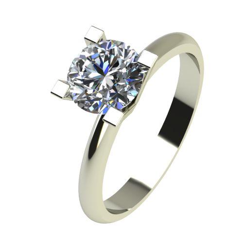 Годежен Пръстен бяло злато с диамант Cante 0,25 ct. 2282