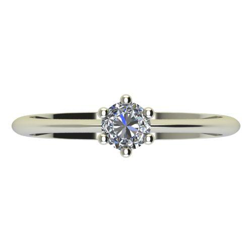 Годежен Пръстен бяло злато с диамант Cante 0,25 ct. 2302 a