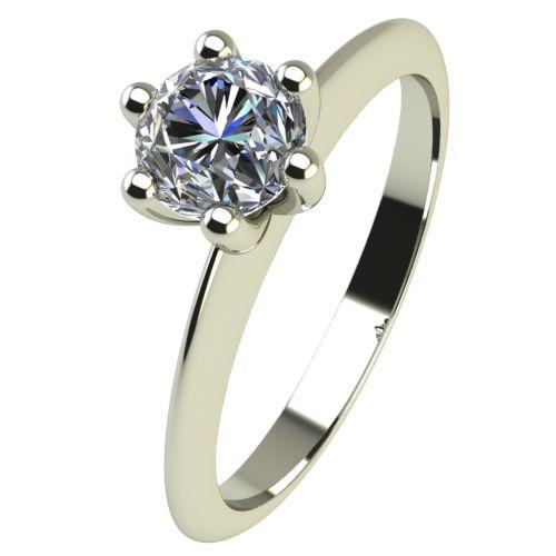 Годежен Пръстен бяло злато с диамант Cante 0,25 ct. 2302