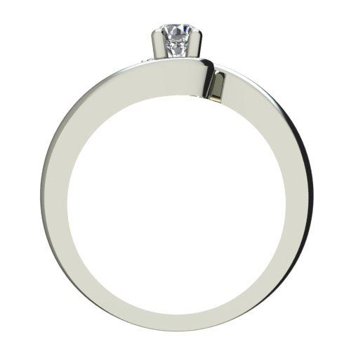 Годежен Пръстен бяло злато с диамант Close 0,17 ct. 2291 b