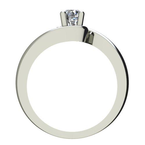 Годежен Пръстен бяло злато с диамант Close 0,25 ct. 2292 b