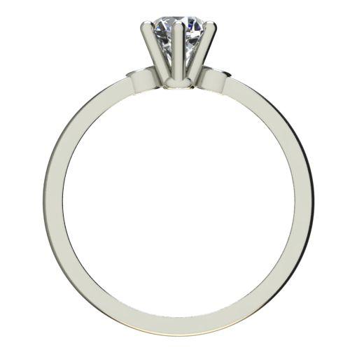 Годежен Пръстен бяло злато с диамант Piece 0,25 ct. 2319 b
