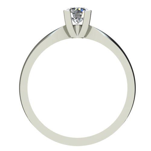 Годежен Пръстен бяло злато с диамант Thin 0,25 ct. 2287 b