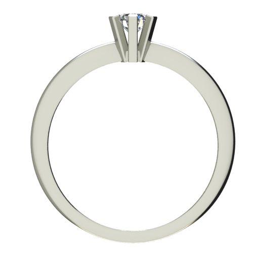 Годежен Пръстен бяло злато с диамант Cante 0,12 ct. 2351 b