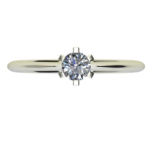 Годежен Пръстен бяло злато с диамант Cante 0,17 ct. 2352 a