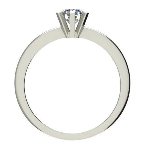 Годежен Пръстен бяло злато с диамант Cante 0,17 ct. 2352 b