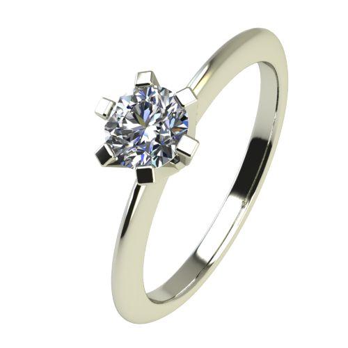 Годежен Пръстен бяло злато с диамант Cante 0,17 ct. 2352