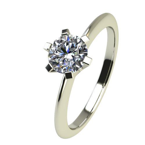 Годежен Пръстен бяло злато с диамант Cante 0,25 ct. 2353