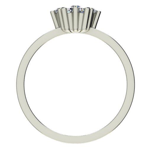 Годежен Пръстен бяло злато с диамант Snowy 0,21 ct. 2354 b