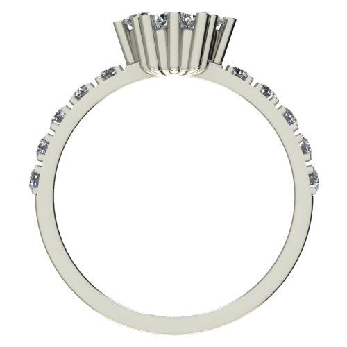 Годежен Пръстен бяло злато с диамант Snowy 0,36 ct. 2355 b