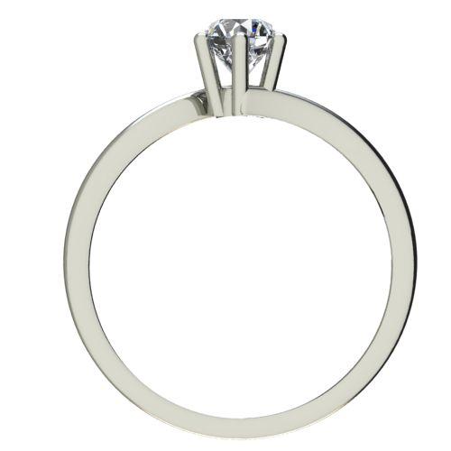 Годежен Пръстен бяло злато с диамант Starlet 0,17 ct. 2337 b