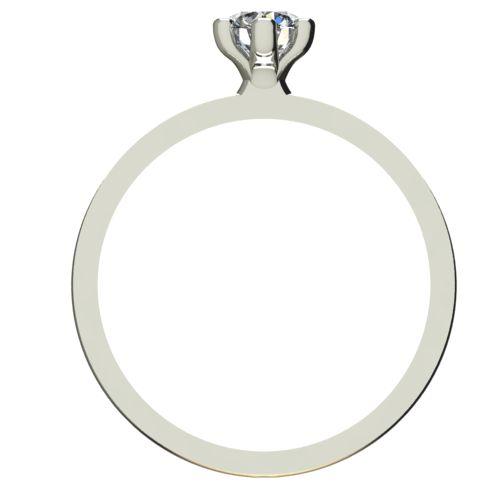 Годежен Пръстен бяло злато с диамант Tulip 0,25 ct. 2333 b