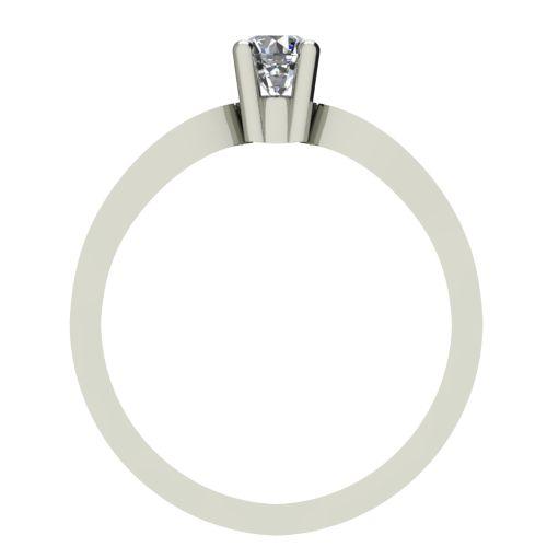 Годежен Пръстен бяло злато с диамант Wings 0,04 ct. 2367 b