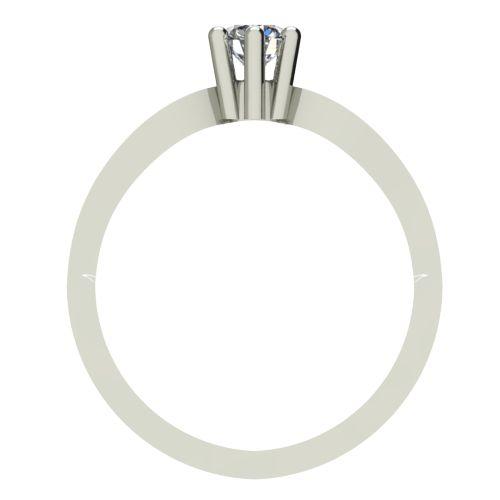 Годежен Пръстен бяло злато с диамант Wings 0,25 ct. 2376 b