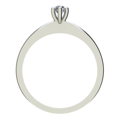 Годежен Пръстен бяло злато с диамант Cante 0,04 ct. 2382 b