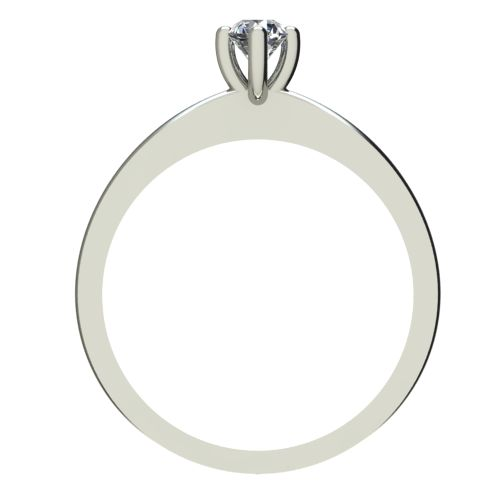 Годежен Пръстен бяло злато с диамант Cante 0,12 ct. 2384 b