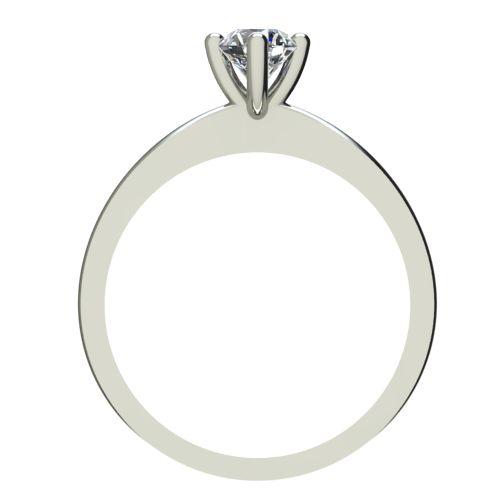 Годежен Пръстен бяло злато с диамант Cante 0,25 ct. 2386 b