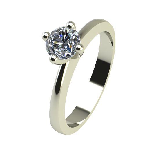 Годежен Пръстен бяло злато с диамант Cante 0,25 ct. 2386