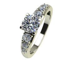Годежен Пръстен бяло злато с диамант Edge 0,39 ct. 2393