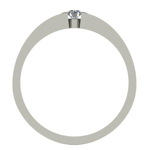 Годежен Пръстен бяло злато с диамант Safe 0,07 ct. 2418 b