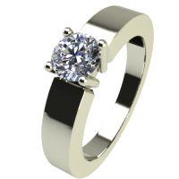 Годежен Пръстен бяло злато с диамант Safe 0,25 ct. 2387