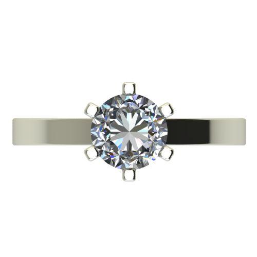 Годежен Пръстен бяло злато с диамант Cante 0,50 ct. 2428 a