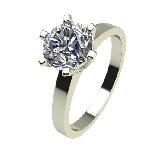 Годежен Пръстен бяло злато с диамант Cante 0,50 ct. 2428