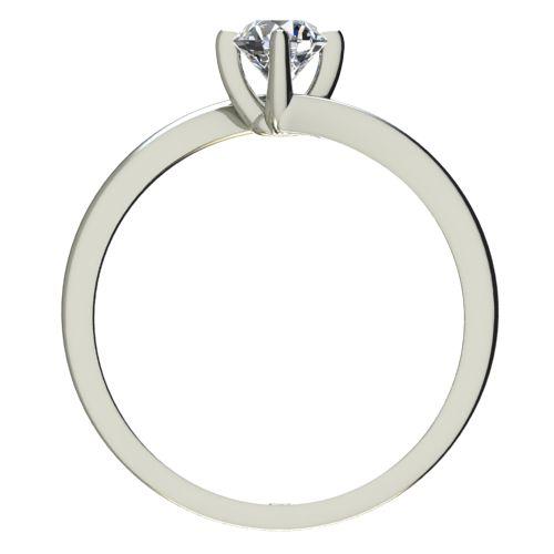 Годежен Пръстен бяло злато с диамант Chase 0,17 ct. 2441 b