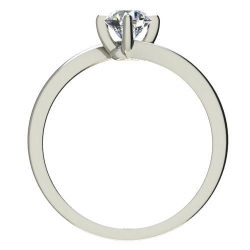 Годежен Пръстен бяло злато с диамант Chase 0,25 ct. 2442 b