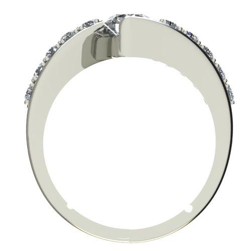 Годежен Пръстен бяло злато с диамант Close 0,40 ct. 2429 b